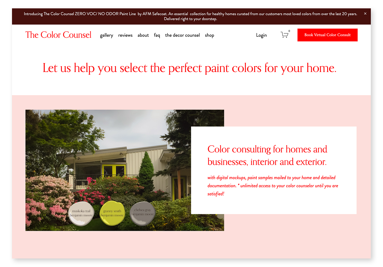 Color Counsel Website